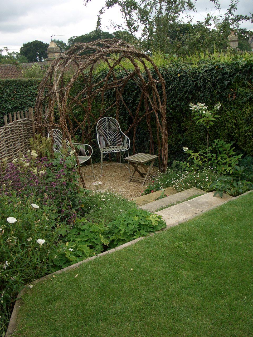 Small Country Garden, Near Bath